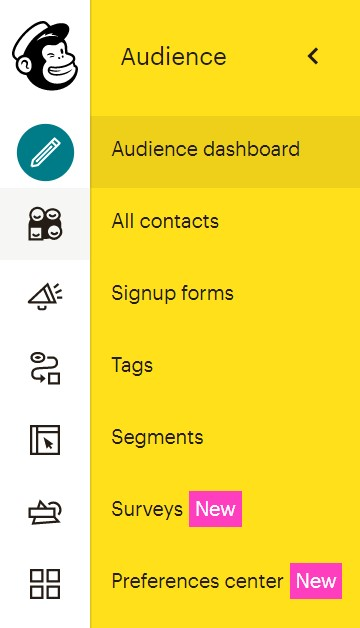 Check that Mailchimp Preferences Center is available