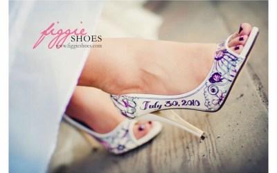 Les chaussures des mariées : le détail qui finit la tenue ! Osez tout et personnalisez les!
