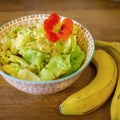 Bananen Curry Salatsauce