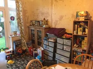 Playroom before image