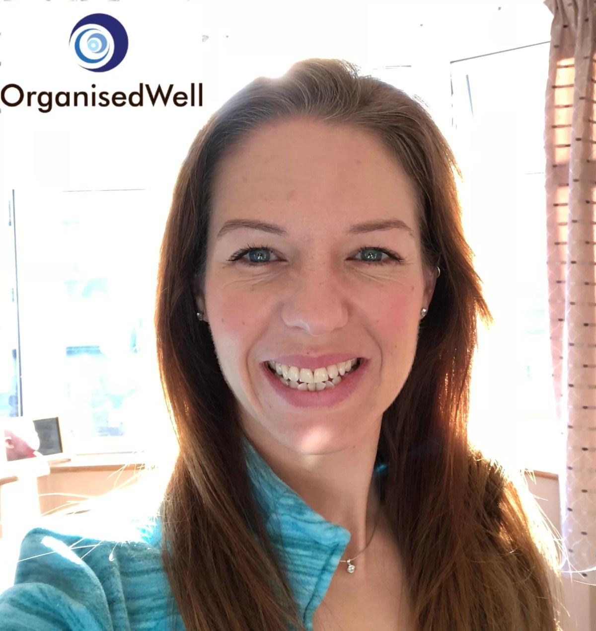 Smiling Laura Williams, OrganisedWell