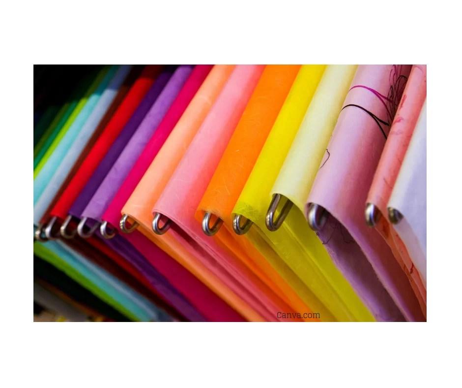 Organising Paperwork - Colourful Hanging files