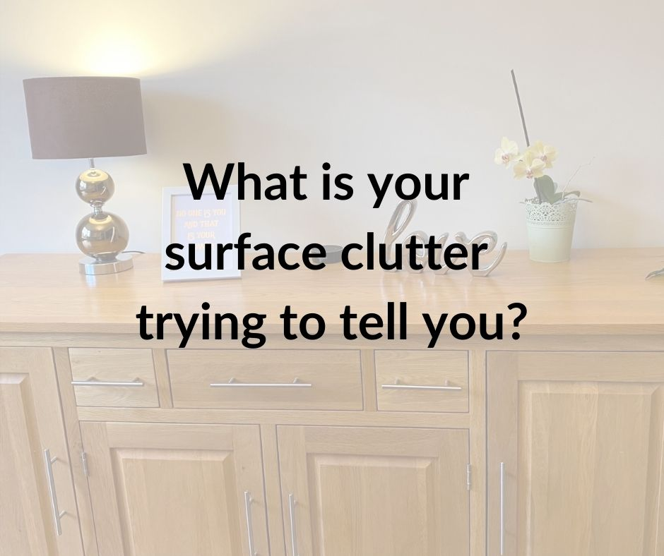 What is your surface clutter trying to tell you?