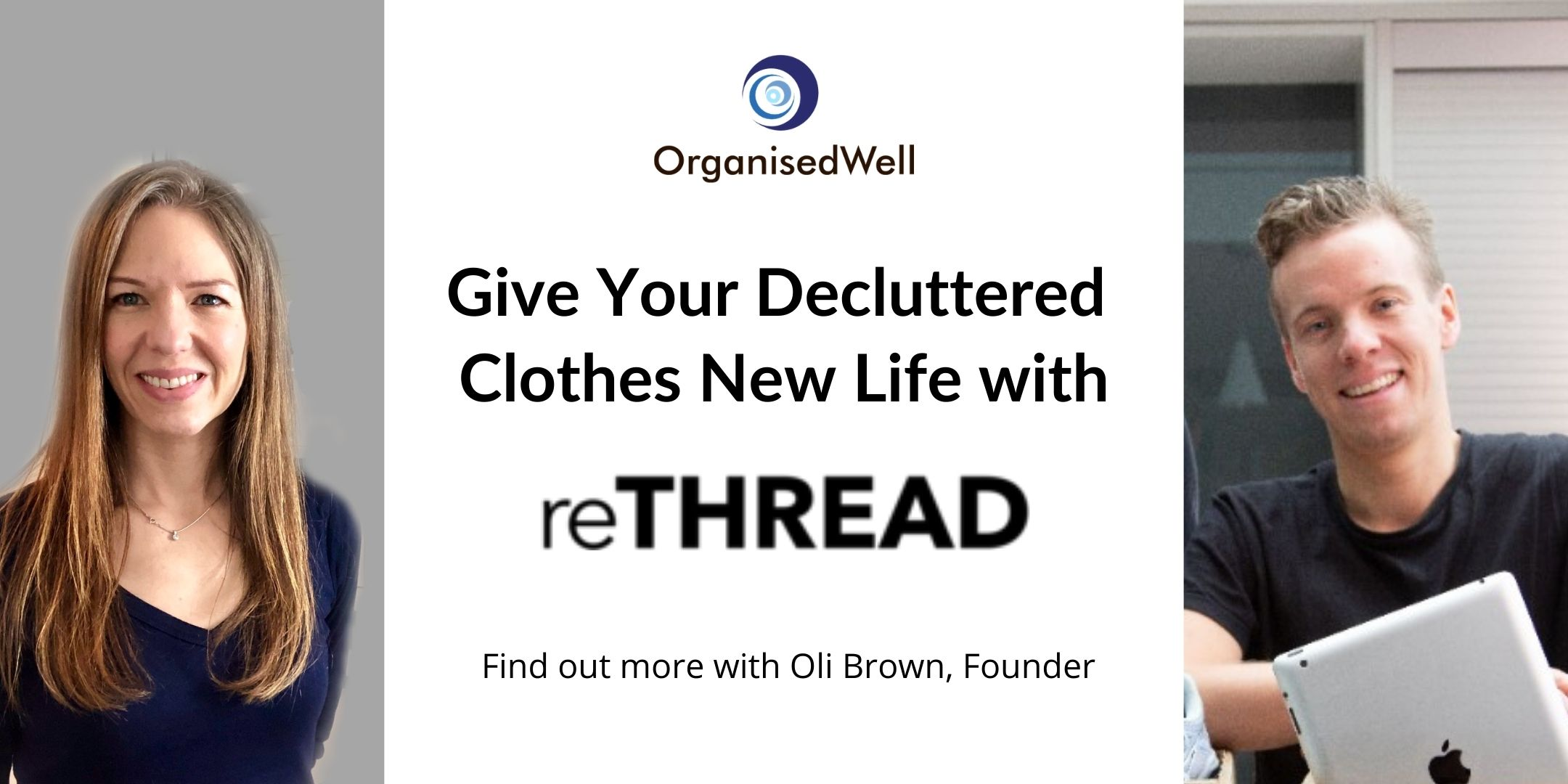 Blog - Give your decluttered clothes new life with rethread