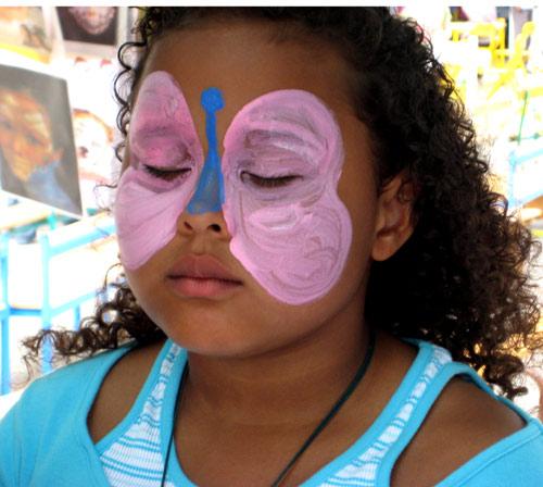 modeles de maquillage anniversaire enfant