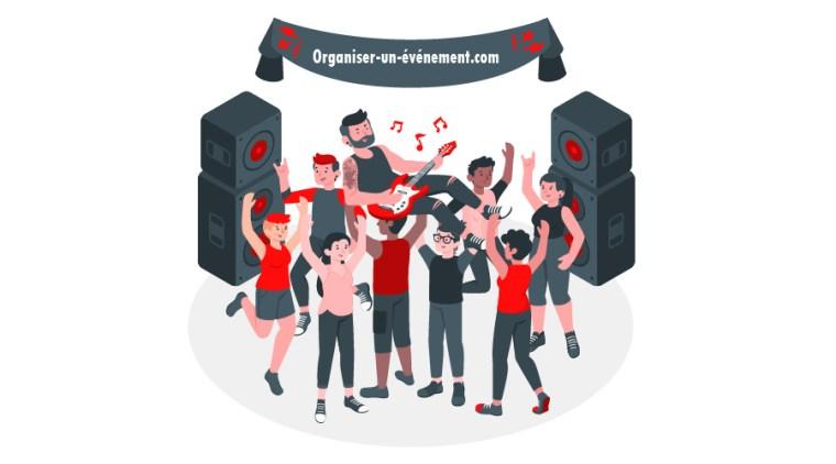 Organiser une soirée dansante people are dancing at a disco party