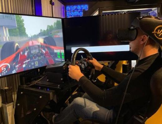 VR voiture virtual planet
