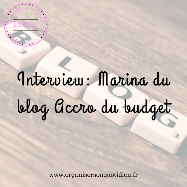 Interview : blog accro du budget