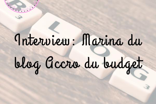 Interview : blog accro du budget