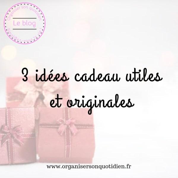 3 idées cadeau utiles pour Noël