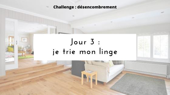 challenge mini-désencombrement