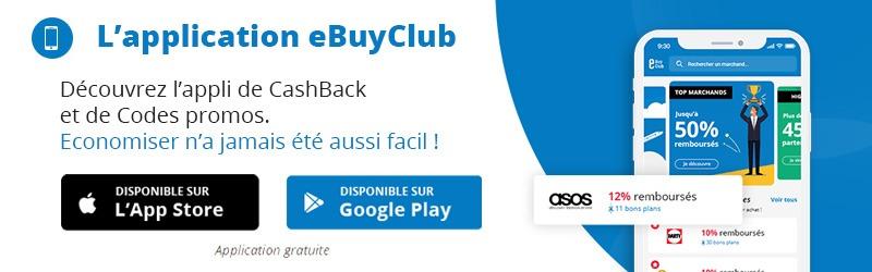 Ebuyclub : le cashback pour rembourser vos achats en ligne