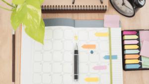 Comment créer son planner pour s'organiser