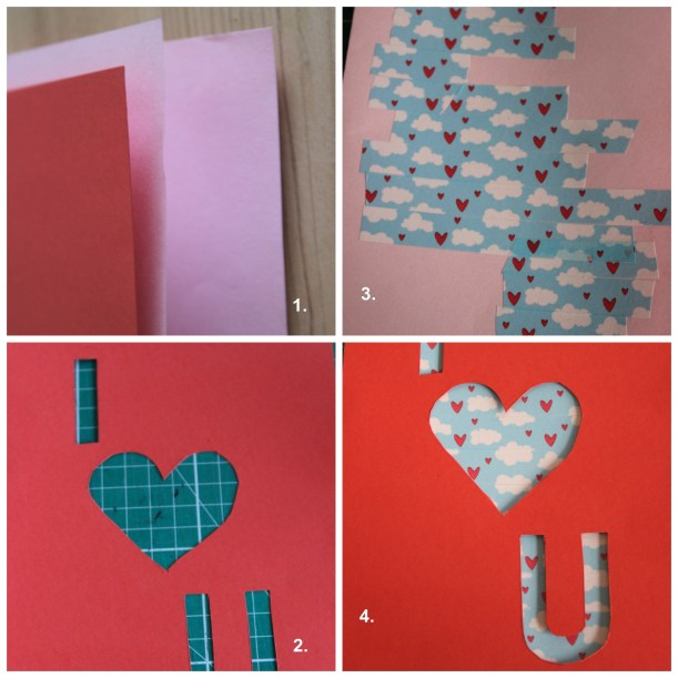 I love you card - OrganisingChaosBlog