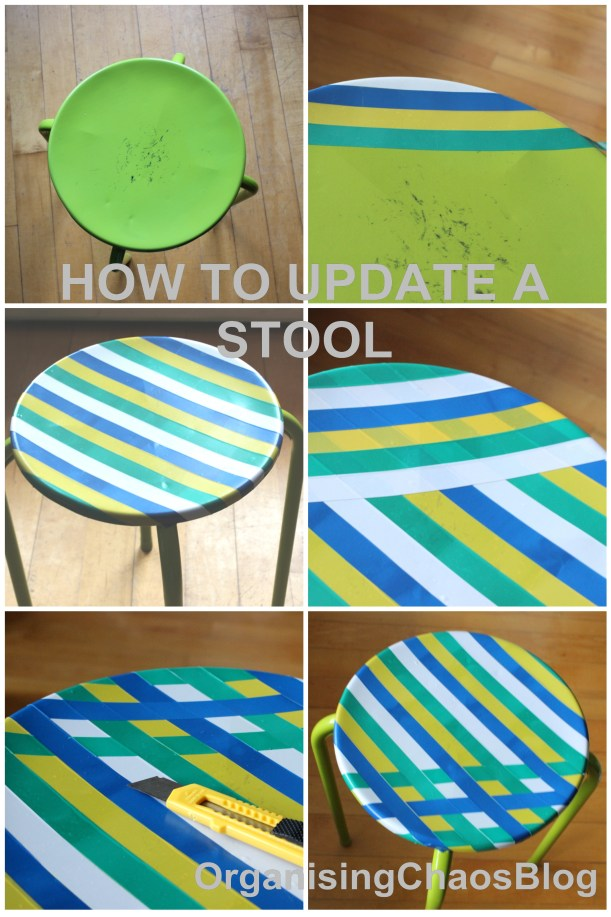 How to update a stool - OrganisingChaosBlog