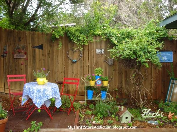 Weekly Inspiration - Backdoor garden