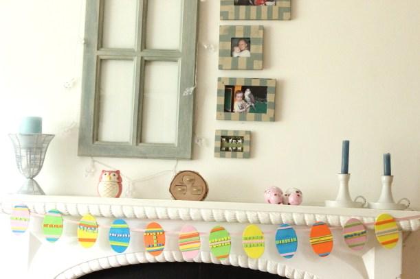 OrganisingChaosBlog - How to make a Easter Egg Garland
