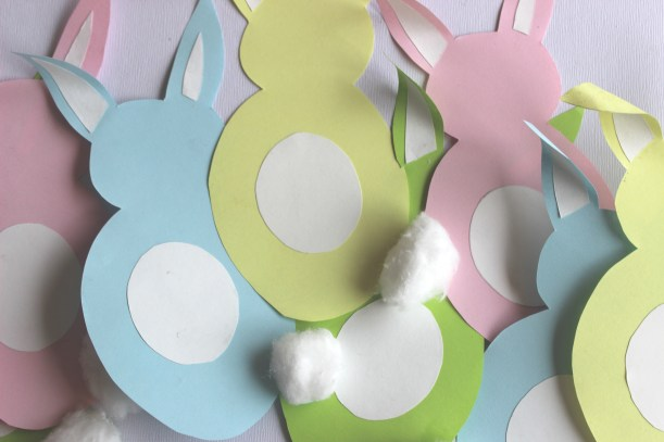 How to make an Easter Bunny Garland 2