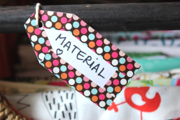 Make your own tags - Material