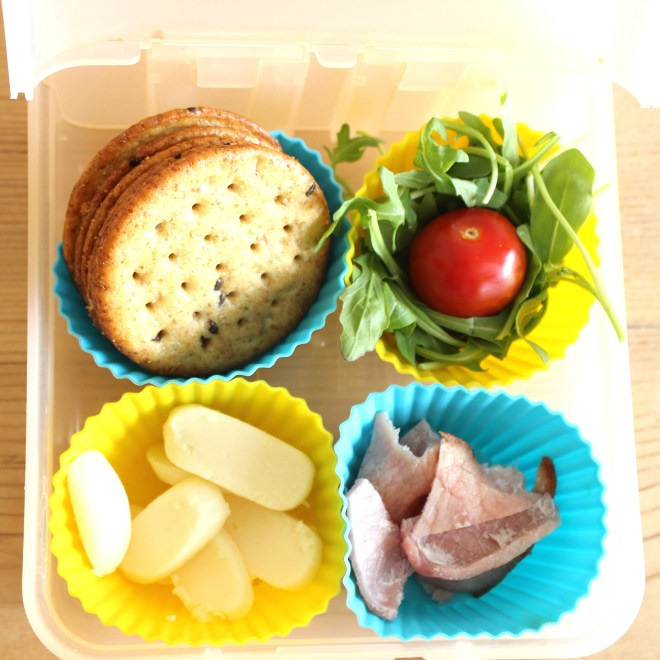 School lunch - Make your own sandwich