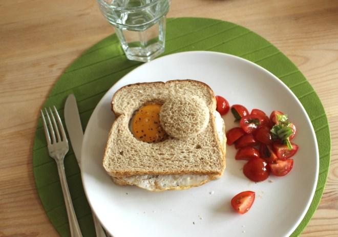 Comfort Food - Chorizo and Egg Sandwich