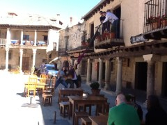 Gymkana IPad en la Plaza Mayor de Pedraza