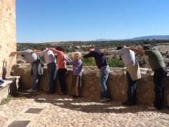 Desafío IPad Medieval en las murallas de Pedraza