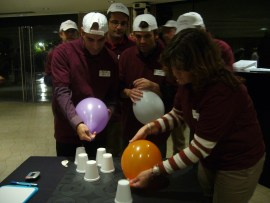 Actividad team building indoor Factor Team