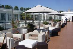 Terraza del Hotel Me Madrid Reina Victoria