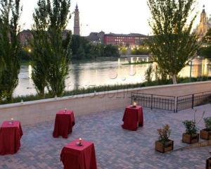 Vistas del Ebro desde Molino de San Lázaro