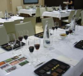 Cata de Chocolates en NH AMistad Murcia