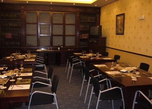 Salón La Biblioteca del Hotel Mercure Plaza de España