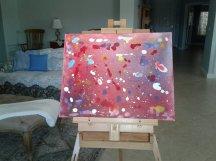"My Original Artwork ~ Universe #1 (16"" x 20"") - (Copyright Mark D. Jones, All Rights Reserved)"