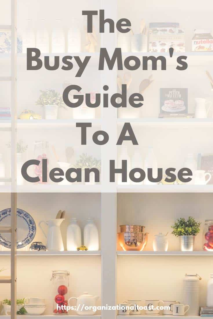 cleaning schedule | busy mom's guide to a clean house | home organization #cleaning #homemaking