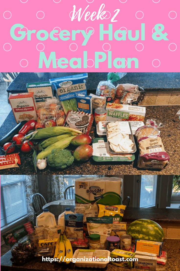 grocery haul on a budget | grocery list and meal plan for four | meal plan for family of 4 | #mealplan #grocerhaul #grocerybudget