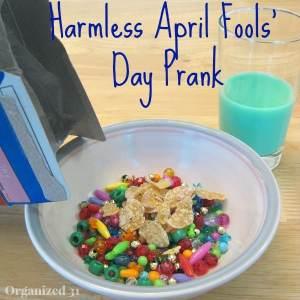 Harmless April Fools' Prank - Organized 31