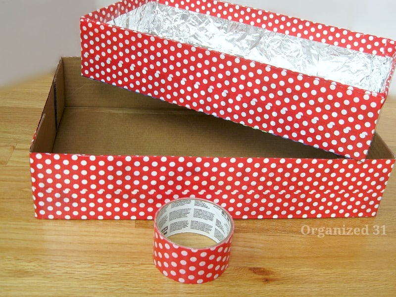 Upcycled Box Party Serving Tray - Organized 31