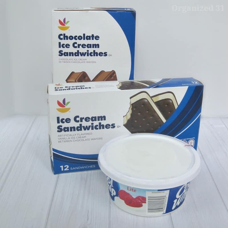 Easy Ice Cream Sandwich Cake - Organized 31