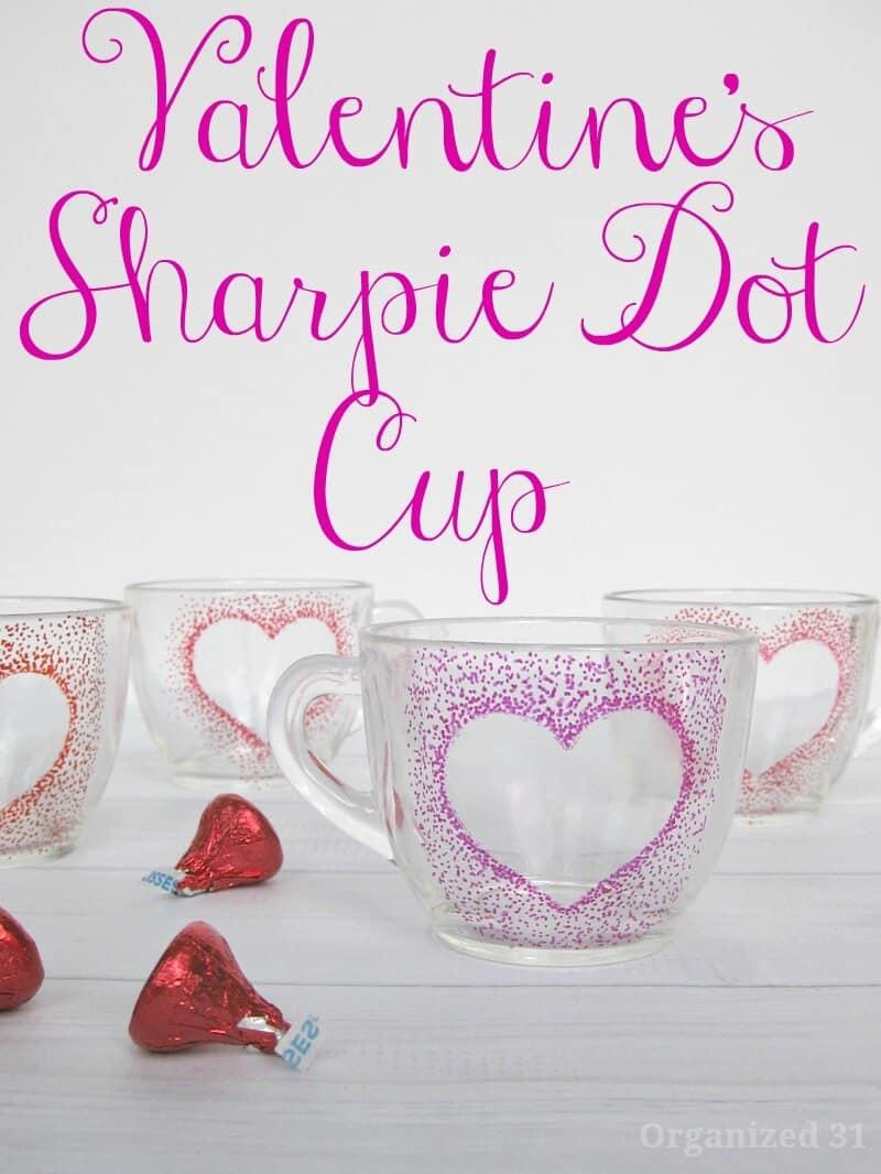 Sharpie Dot Cup - Organized 31