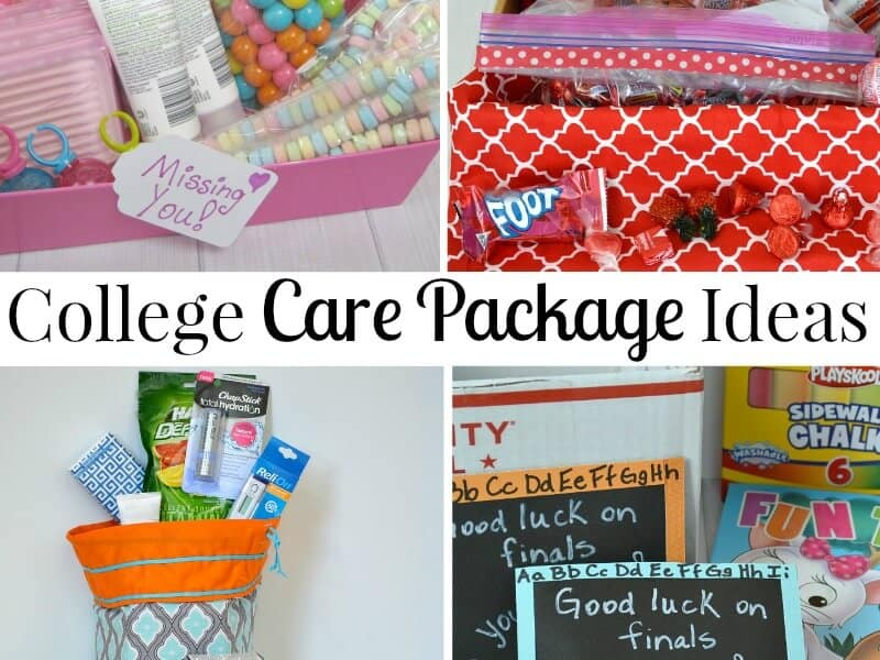 College Care Package Ideas Organized 31