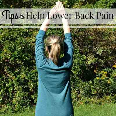 Tips to Help Lower Back Pain
