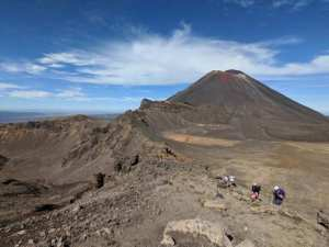 Volcano Tongariro Crossing hike New Zealand