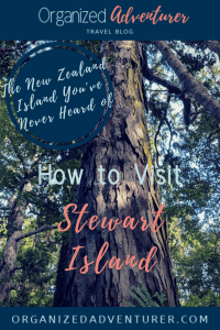 New Zealand's Stewart Island deserves some major love, and this Stewart Island itinerary has everything you need to know.