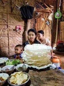 Lunch in in Inthein Village
