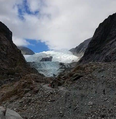 Franz Josef Glacier Valley hike views