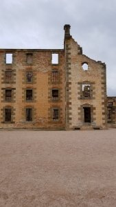 Remains of the Port Arthur Penitentiary