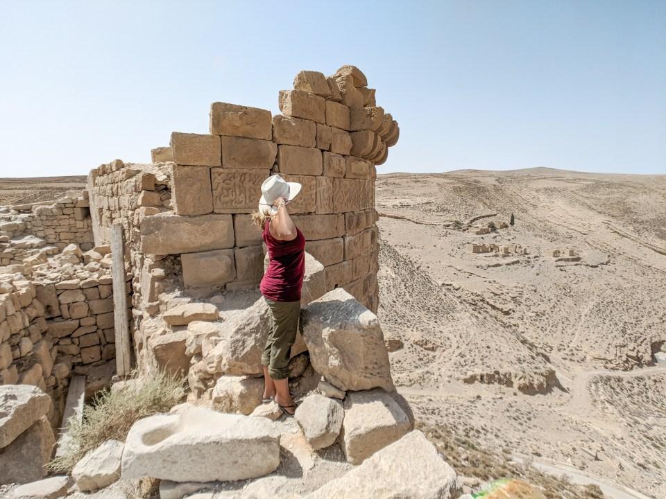 Shobak Castle Views Jordan