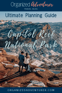 Pin Capitol Reef National Park planning guide.