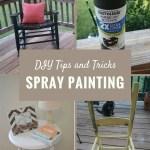 Diy Tips And Tricks Spray Painting Furniture Organized