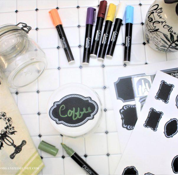 labeling jars